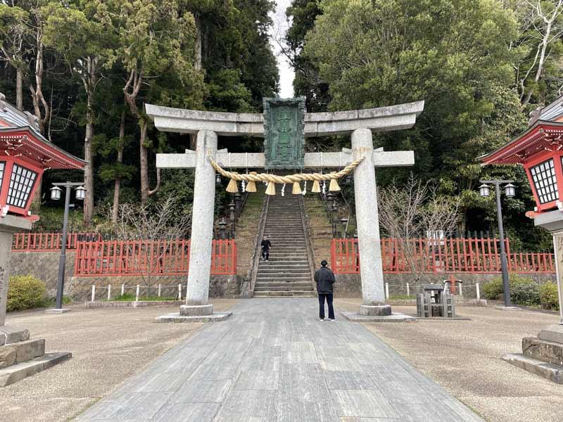 鹽竈神社的鳥居
