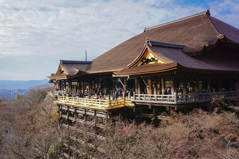 清水寺 正殿(本堂)舞台
