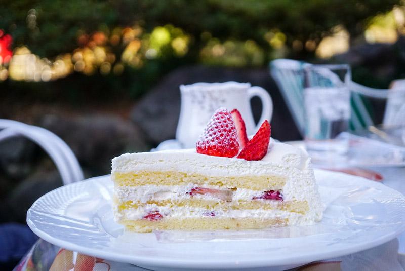 Delices tarte&cafe 草莓奶油蛋糕