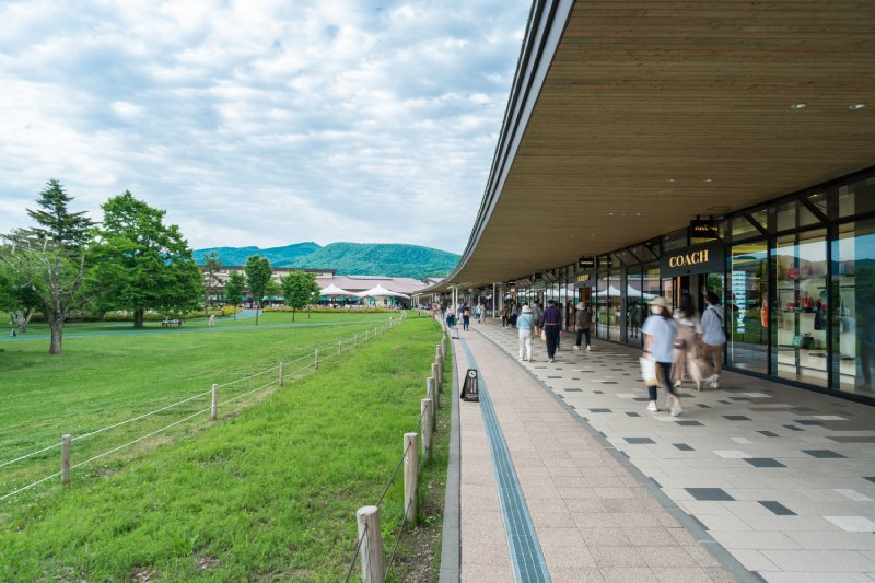輕井澤、王子購物廣場